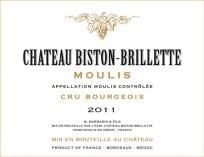 Chateau Biston Brillette 2011 - Asso Pierre Favre