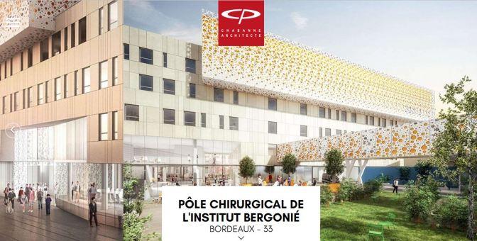 Pose de la 1ère pierre du nouveau pôle chirurgical et interventionnel Josy Reiffers de l'Institut Bergonié